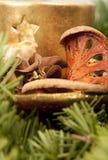 Close-up van het ornament van Kerstmis Royalty-vrije Stock Afbeeldingen