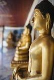Close-up van het standbeeld van Boedha Royalty-vrije Stock Afbeeldingen