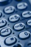 Close-up van het Toetsenbord van de Telefoon Royalty-vrije Stock Foto