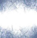 Close-up van ijskristallen Stock Fotografie