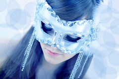 Close-up van jonge mooie vrouw Royalty-vrije Stock Fotografie