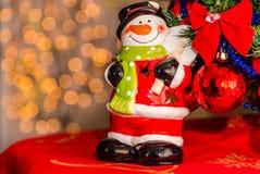 Close-up van Kerstmisdecoratie Royalty-vrije Stock Afbeeldingen