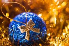 Close-up van Kerstmisspeelgoed Royalty-vrije Stock Fotografie