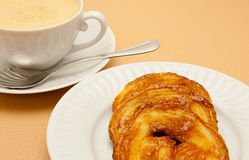 Close-up van koffie Royalty-vrije Stock Afbeelding