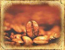 Close-up van koffiebonen Royalty-vrije Stock Foto's
