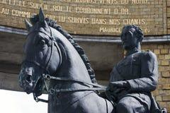 Close-up van Koning Albert I Royalty-vrije Stock Afbeeldingen
