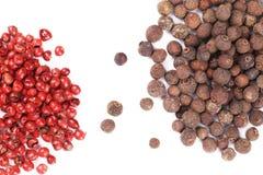 Close-up van kruidige hete peperbollen Stock Foto's
