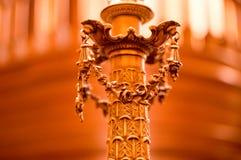 Close-up van lichte lamphouder in capitol van Sacramento royalty-vrije stock afbeelding
