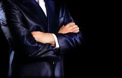 Close-up van man zaken stock afbeelding