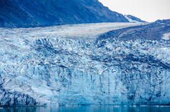Close-up van Margerie Glacier in Alaska Royalty-vrije Stock Afbeelding
