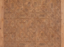 Close-up van Marokkaanse deur Stock Foto's