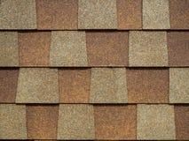 Close-up van moderne vierkante de dakspanentegels van het daktrapezoïde waterdichte gewaagde ruwe oppervlakte voor huis buitende stock foto