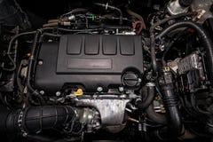 Close-up van motor stock foto