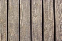 Close-up van muur van houten planken wordt gemaakt die royalty-vrije stock foto