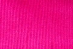 Close-up van naadloze roze gebreide stoffentextuur textiel, hoogste mening royalty-vrije stock foto