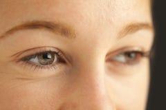 Close-up van ogen Royalty-vrije Stock Foto's