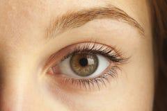 Close-up van oog Royalty-vrije Stock Afbeeldingen