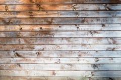 close-up van oude houten planken Stock Afbeelding