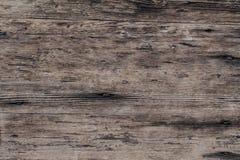 Close-up van oude natuurlijke houten grungetextuur Donkere oppervlakte met ol Royalty-vrije Stock Fotografie