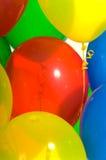 Close-up van partijballons royalty-vrije stock afbeeldingen