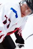 Close-up van speler Stock Foto's