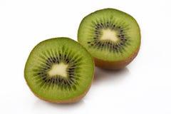 Close-up van stuk van kiwi royalty-vrije stock afbeelding