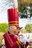 Close-up van Stuk speelgoed militair van Babes in Toyland in Disneyland stock foto's