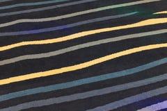 Close-up van tapijttextuur Stock Afbeeldingen