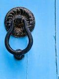 Close-up van traditionele Deuren in Tunesië stock afbeelding