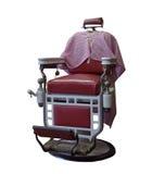 Close-up van uitstekende kappersstoel Royalty-vrije Stock Foto