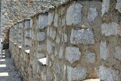 Close-up van VestingsBakstenen muur Royalty-vrije Stock Fotografie