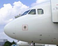 Close-up van Vliegtuig Royalty-vrije Stock Afbeelding