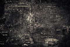 Close-up van Zwarte oude natuurlijke houten grungetextuur Donkere oppervlakte w Royalty-vrije Stock Afbeelding
