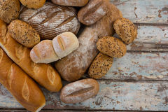 Close-up of variety of breads Royalty Free Stock Photography