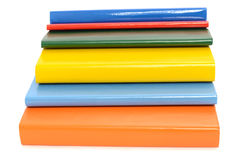 Close up on various books. Stock Images