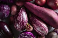 Close-up of various vegetables Royalty Free Stock Photos