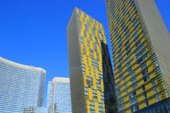 Close up of Veer twin towers in Las Vegas, Nevada, USA Royalty Free Stock Photo