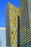 Close up of Veer twin towers in Las Vegas, Nevada, USA Stock Image