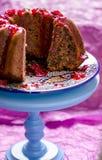 Close-up of vegan cake Royalty Free Stock Photo