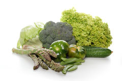 Close-up of vegetable composition Royalty Free Stock Image