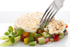 Close up vegetables and crep Stock Image