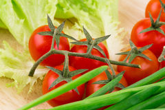 Close up of vegetables Stock Images