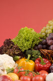 Close-up vegetal do alimento Foto de Stock Royalty Free