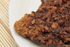 Close up of vegetarian Chinese dumpling Stock Images