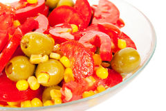 Close up of  vegetarian dish Stock Photo