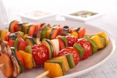 Vegetable kebab Stock Image