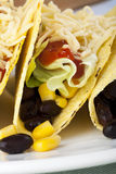 Close Up Vegetarian Tacos Royalty Free Stock Images