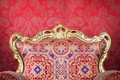Close-up velho da cadeira Imagens de Stock