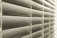 Close Up Of Venetian Blinds Stock Images