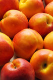 close-up Vermelho-amarelo das nectarina Fotos de Stock